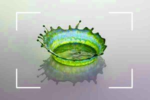 تصوير حركة الماء | أنواع التصوير شرح بالصور (1)