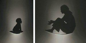 الرسم بالظلال