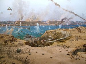 لوحة فنية معبرة عن حرب أكتوبر