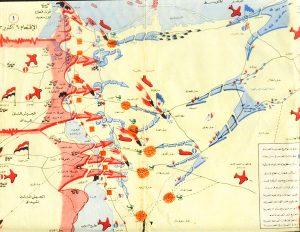 خريطة عبور قناة السويس