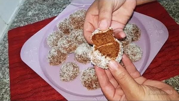 حلوى جافة بالمكسرات أم وليد