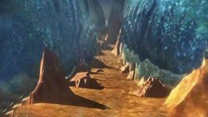 انشقاق البحر   حلقات كرتون موسى عليه السلام