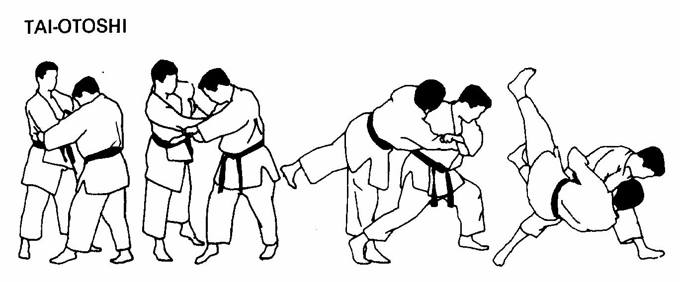 حركة تاي اوتوشي TaiOtoshi