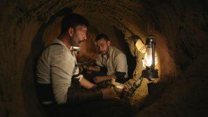 كوت العمارة | جنود عثمانيون يحفرون خندق