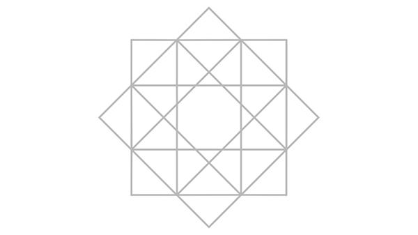 الخطوط الارشادية للنجمة الثمانية