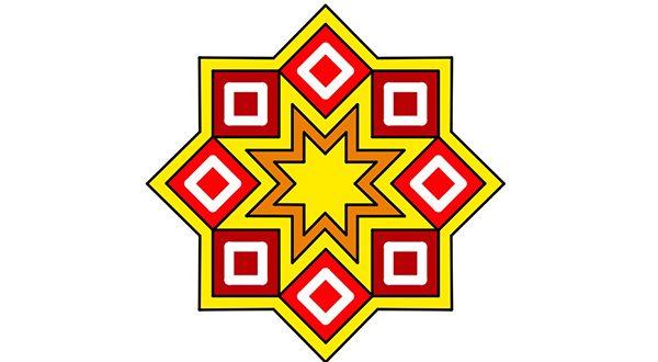 أشكال النجوم الثمانية الزخارف الهندسية موقع اسكتشات