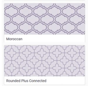 النمط أو النموذج pattern
