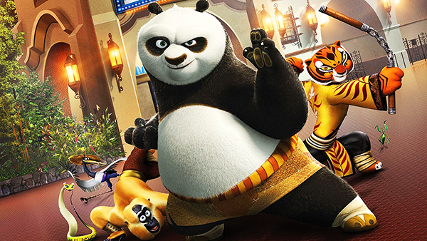 kung fu panda مدبلج