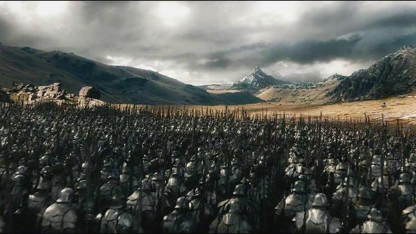 الهوبيت معركة الجيوش الخمسة