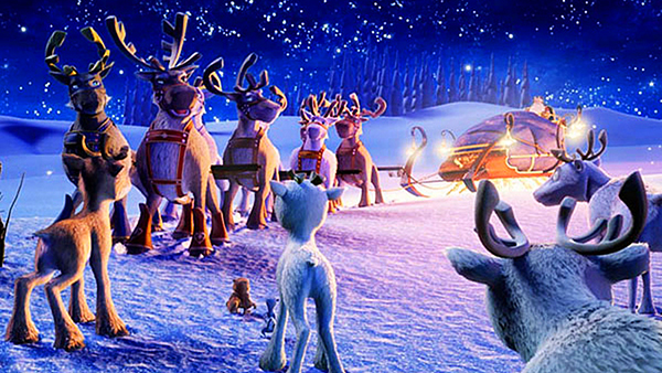فيلم الأنمي الرحلة قبل عيد الميلاد the flight before christmas 2008