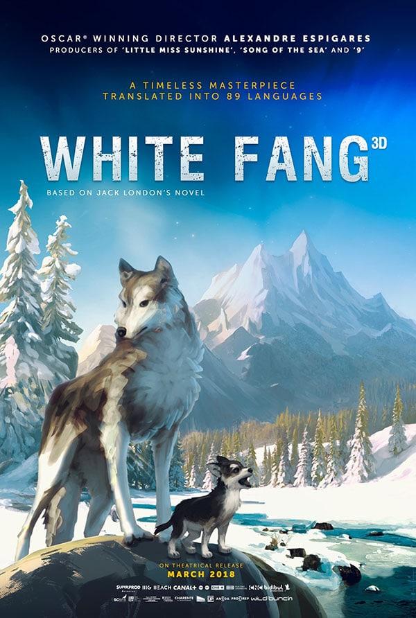 فيلم الأنميشن وايت فانغ | white fang