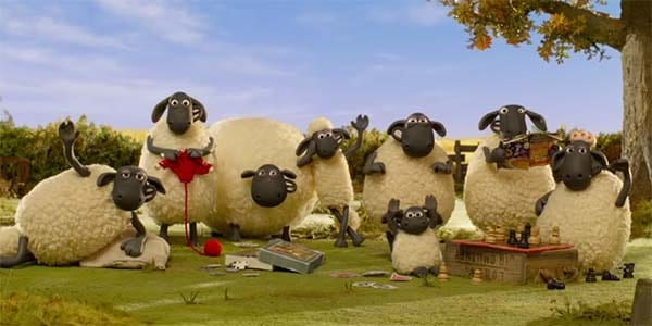 A Shaun the Sheep Farmageddon