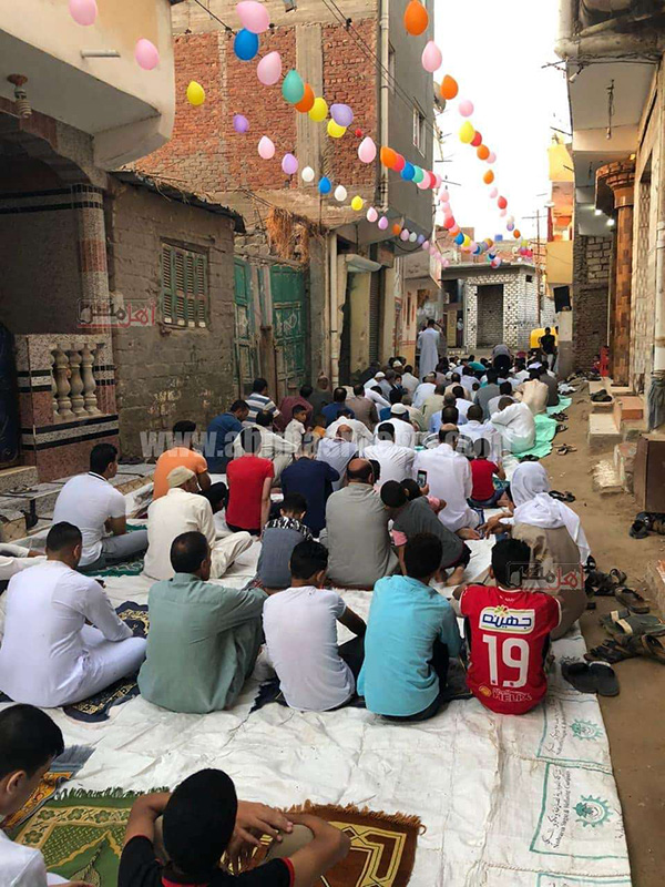 صلاة عيد الأضحى المبارك 2020 البحيرة مصر