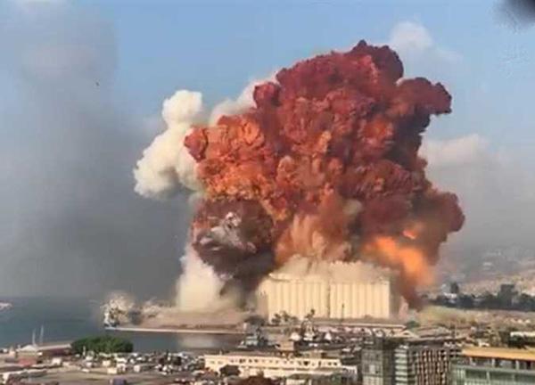 حقيقة انفجار بيروت   وما هي أسبابه ونتائجه