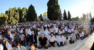 صلاة عيد الأضحى المسجد الأقصى 2020